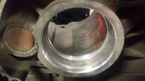 Harley 6-speed case damage from main bearing race rotation
